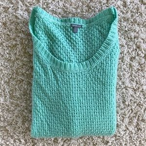 Charlotte Russe green sweater. Size XS